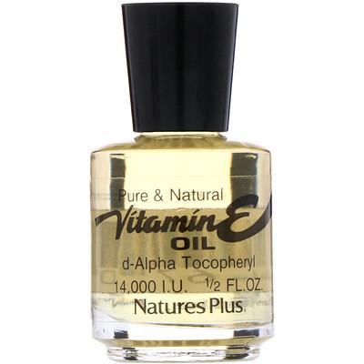 Купить Масло с витамином Е, 14, 000 IU, 1/2 жидких унций