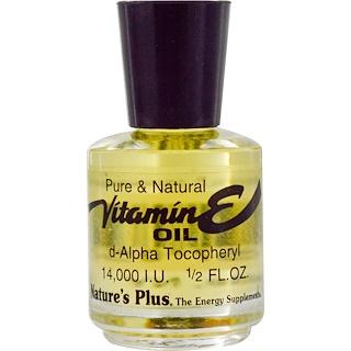 Nature's Plus, Vitamin E Oil, 14,000 IU, 1/2 fl oz