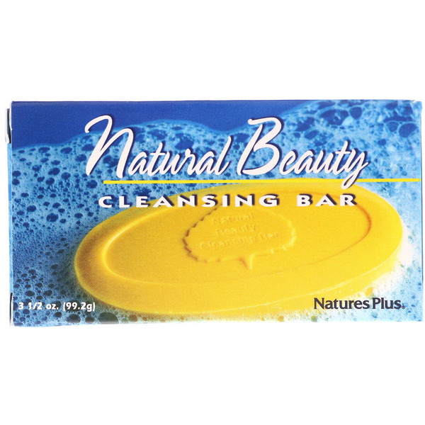 Nature's Plus, Natural Beauty Cleansing Bar, 3 1/2 oz (99.2 g)