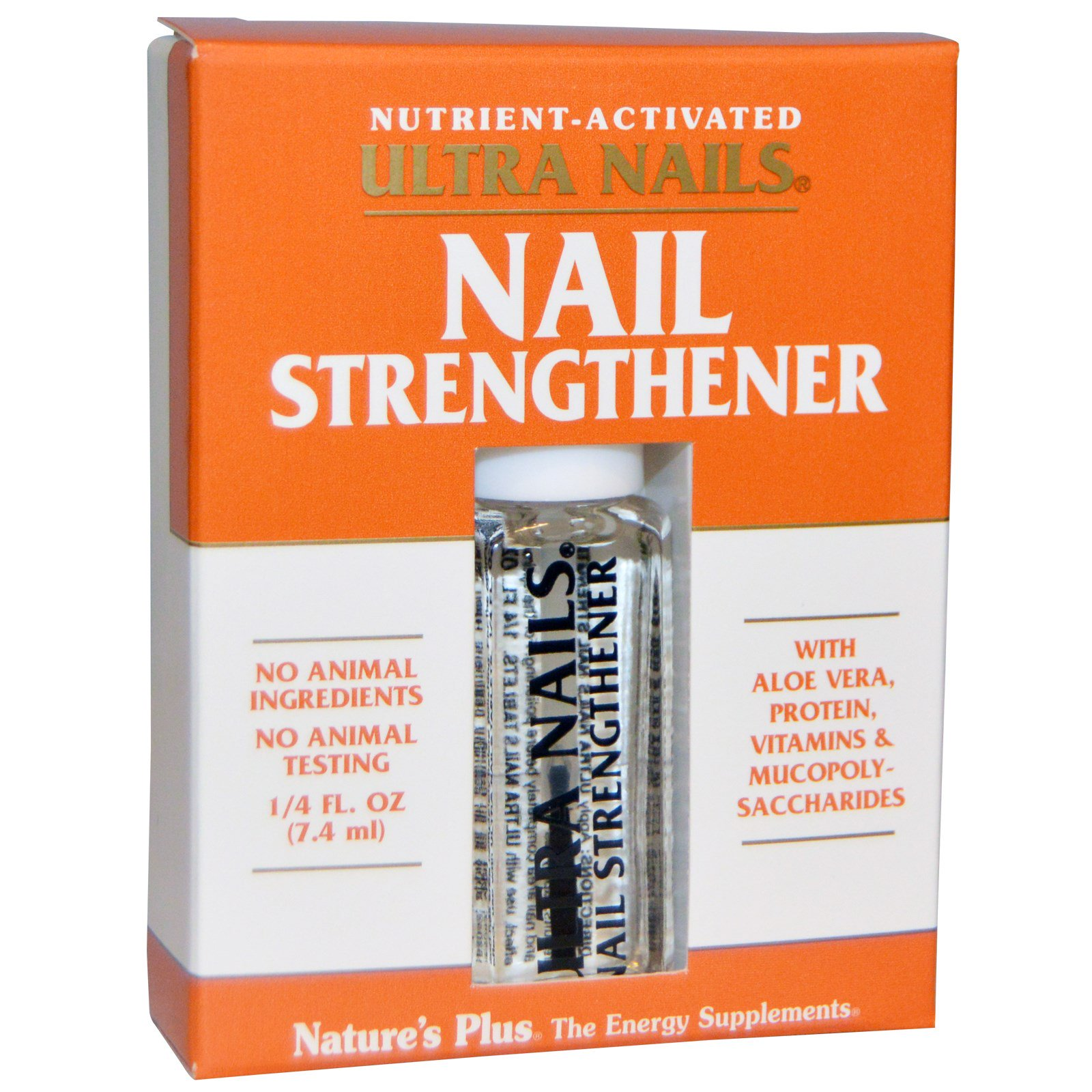 Nature\'s Plus, Ultra Nails, Nail Strengthener, 1/4 fl oz (7.4 ml ...