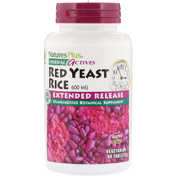 Herbal Actives, Red Yeast Rice, 600 mg, 60 Tablets