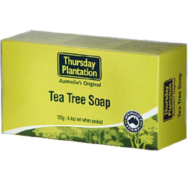Nature's Plus, Thursday Plantation, Tea Tree Soap, 4.4 oz (125 g) (Discontinued Item)