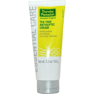 Натурес Плюс, Thursday Plantation, Tea Tree Antiseptic Cream, 3.5 oz (100 g) отзывы