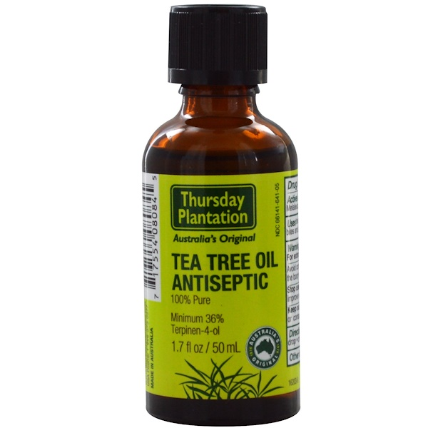 Nature's Plus, Thursday Plantation, Tea Tree Oil Antiseptic, 1.7 fl oz (50 ml) (Discontinued Item)