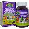 Nature's Plus, Source of Life, Animal Parade, Sugar Free Children's Chewable, Natural Grape Flavor, 90 Animals