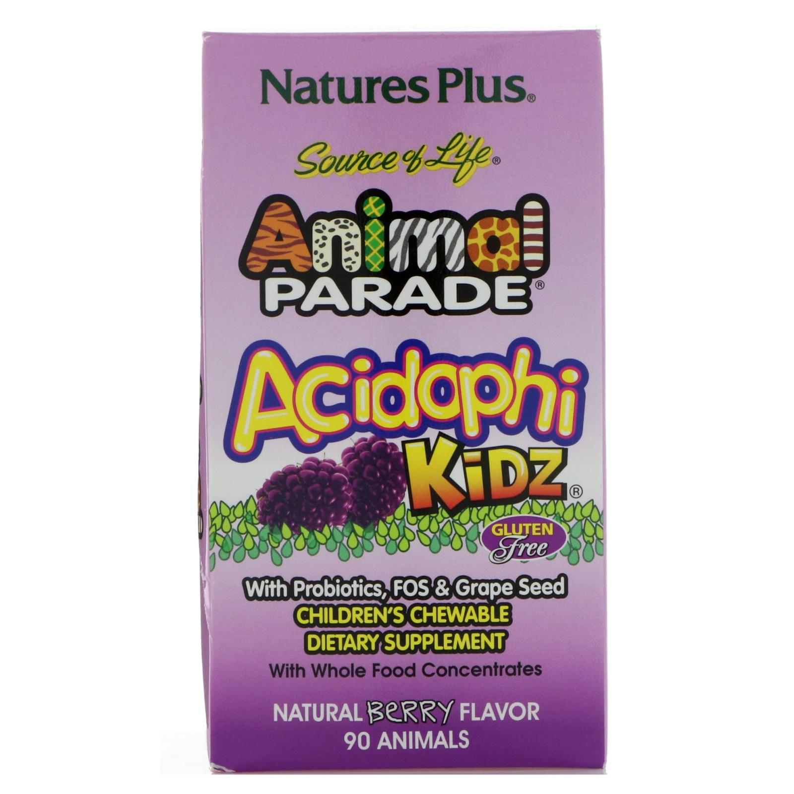Image result for animal parade acidophilus kids