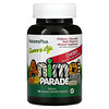 Nature's Plus, Source of Life, Animal Parade, Children's Chewable Multi-Vitamin & Mineral Supplement, Cherry, 90 Animal-Shaped Tablets