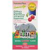 Nature's Plus, Источник жизни, Шествие животных, Жевательный комплекс мультивитаминов и минералов для детей с натуральным вкусом вишни, 180 животных