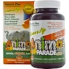Nature's Plus, Source of Life, Animal Parade, Children's Chewable Multi-Vitamin & Mineral Supplement, Natural Orange Flavor, 180 Animals