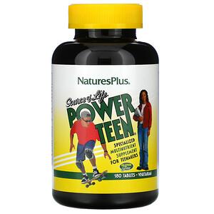 Натурес Плюс, Source of Life, Power Teen, 180 Tablets отзывы покупателей