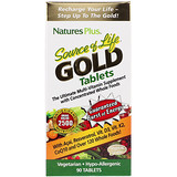 Отзывы о Nature's Plus, Source of Life Gold, The Ultimate Multi-Vitamin Supplement, 90 таблеток
