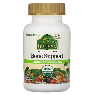 Nature's Plus, SourceofLifeGarden, Suplemento orgánico para huesos, 120cápsulas veganas
