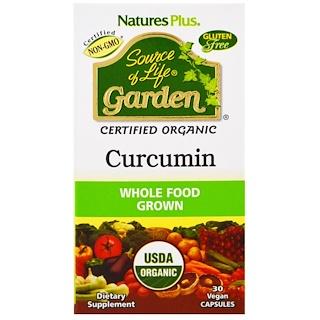 Nature's Plus, Source of Life Garden, Curcumin, 30 Veggie Caps