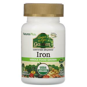 Натурес Плюс, Source of Life Garden, Iron, 30 Vegan Capsules отзывы покупателей