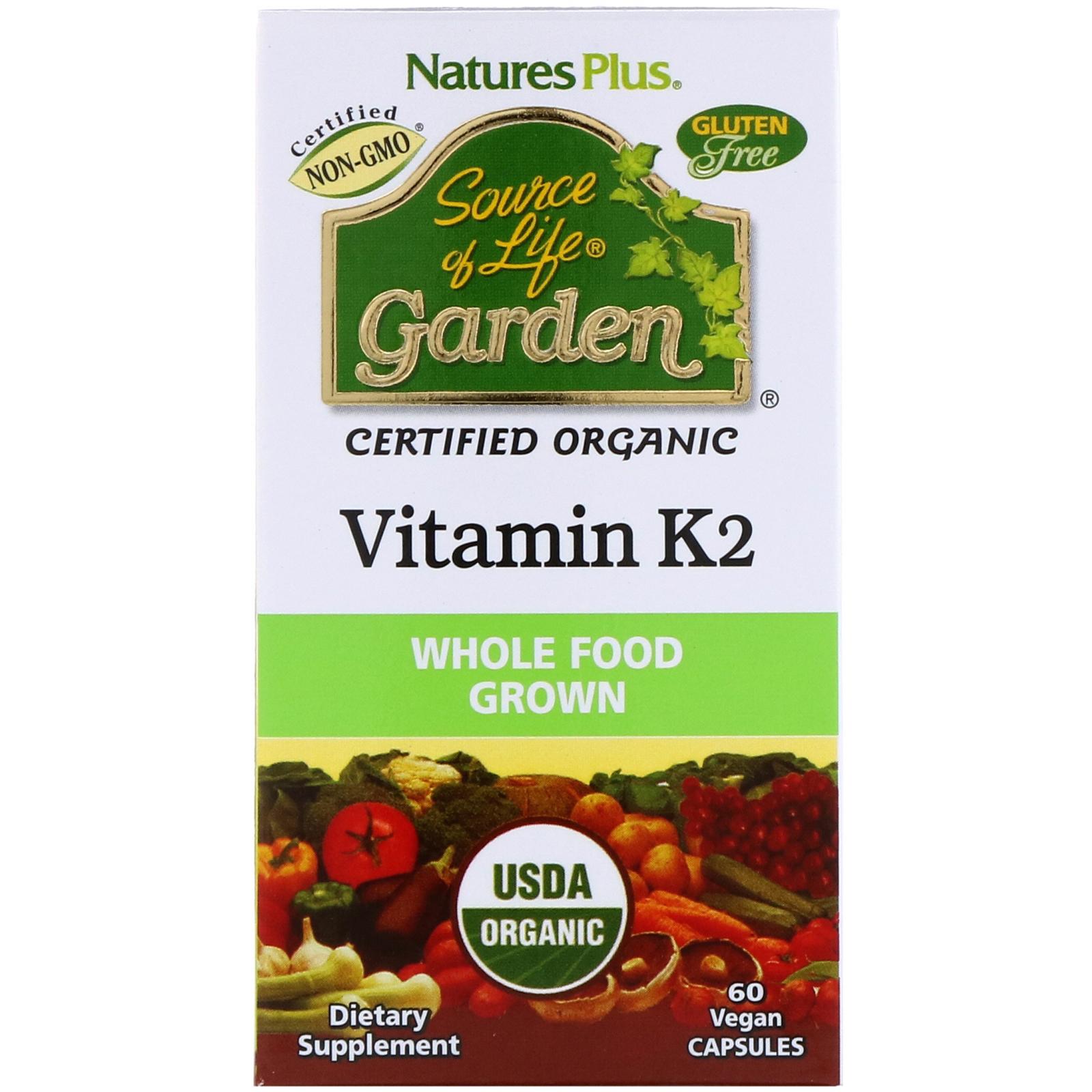 Vitamina de mk7 efectos secundarios la k