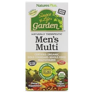 Nature's Plus, Source of Life Garden, Men's Multi, 90 Vegan Tablets
