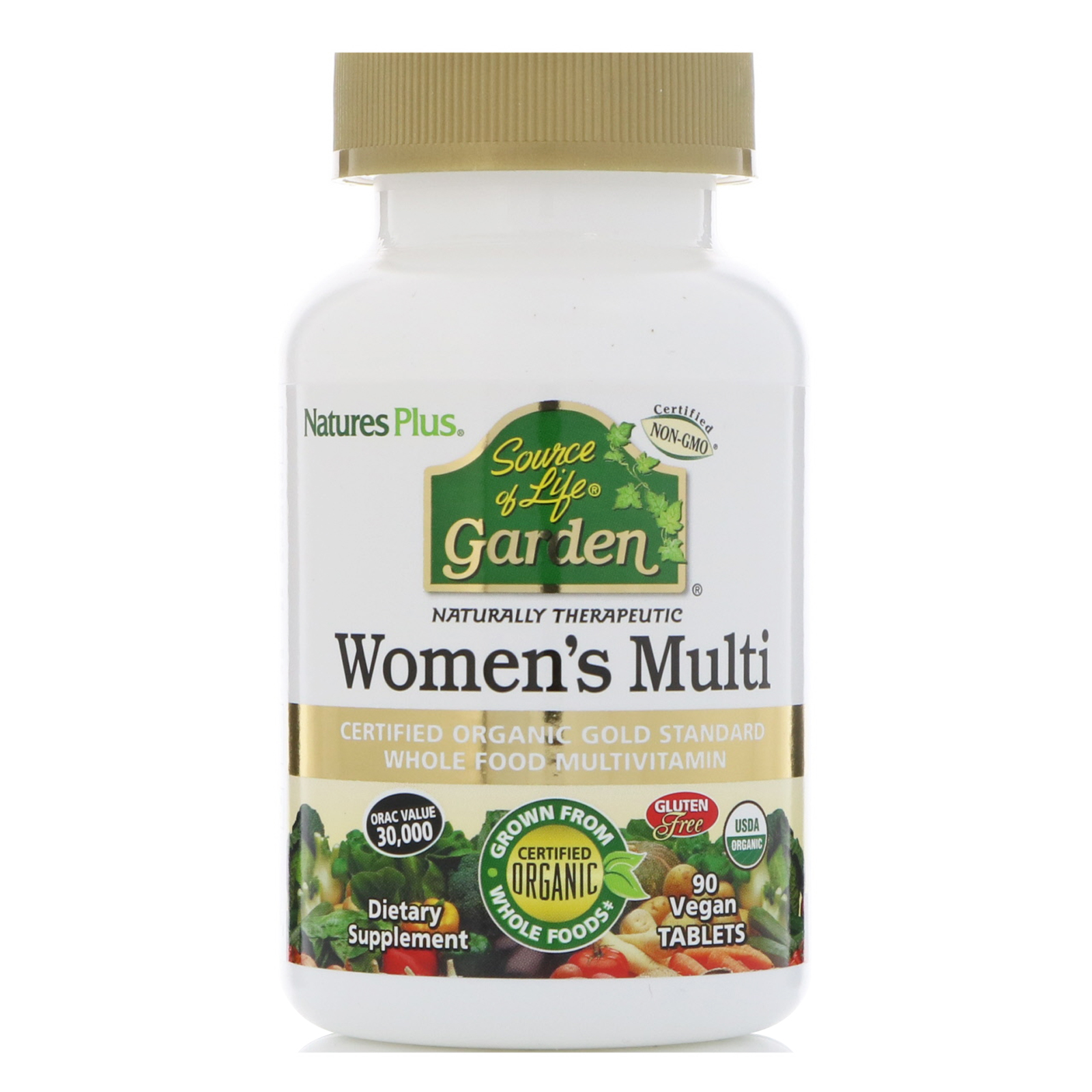 Nature 39 S Plus Source Of Life Garden Women 39 S Multi 90 Vegan Tablets
