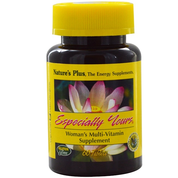 Nature's Plus, Especially Yours, Woman's Multi-Vitamin Supplement, 60 Tablets (Discontinued Item)