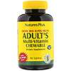 Nature's Plus, Adult's Multi-Vitamin Chewable, Exotic Red Berry, 90 Tablets