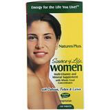 Отзывы о Nature's Plus, Source of Life, мультивитаминная и минеральная добавка для женщин с цельными пищевыми концентратами, 120 таблеток