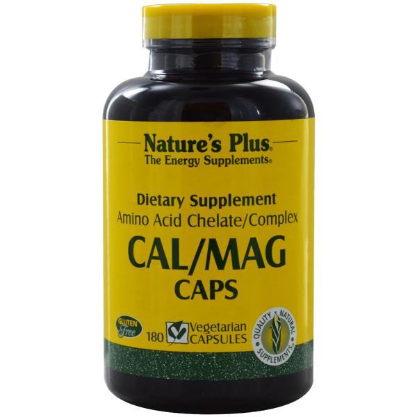 Nature's Plus, Cal/ Mag Caps, 180 Veggie Caps
