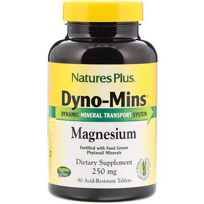 Dyno-Mins, Магний, 250 мг, 90 кислотоустойчивых таблеток магний 250 мг 110 таблеток