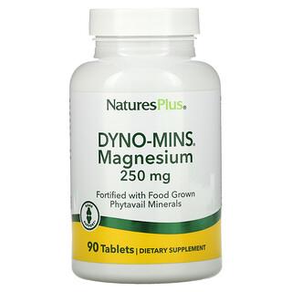 Nature's Plus, Dyno-Mins, Magnesium, 250 mg, 90 Tablets