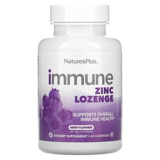 Nature's Plus, Immune Zinc, Berry, 60 Lozenges