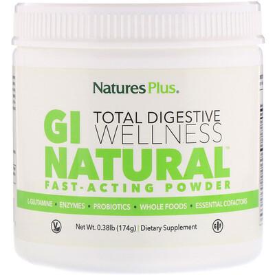 Купить Nature's Plus Быстродействующий порошок GI Natural, 0, 38 ф. (174 г)