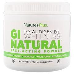Nature's Plus, GI Natural Fast-Acting Powder, 0.38 lb (174 g)