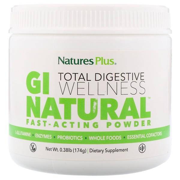 Nature's Plus, GI天然速效粉末,0、38磅(174克)