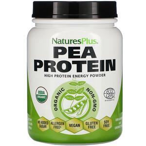 Натурес Плюс, Organic Pea Protein Powder, 1.10 lbs (500 g) отзывы покупателей
