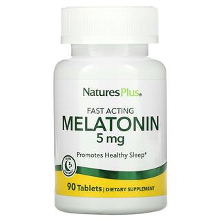 Nature's Plus, Melatonin, 5 mg, 90 Tablets