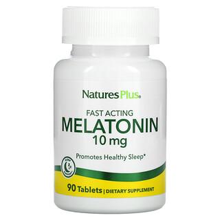 Nature's Plus, Melatonin, 10 mg, 90 Tablets