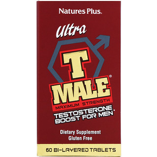 Nature's Plus, Ultra T-Male男士睾酮素刺激片,最大力量,60片