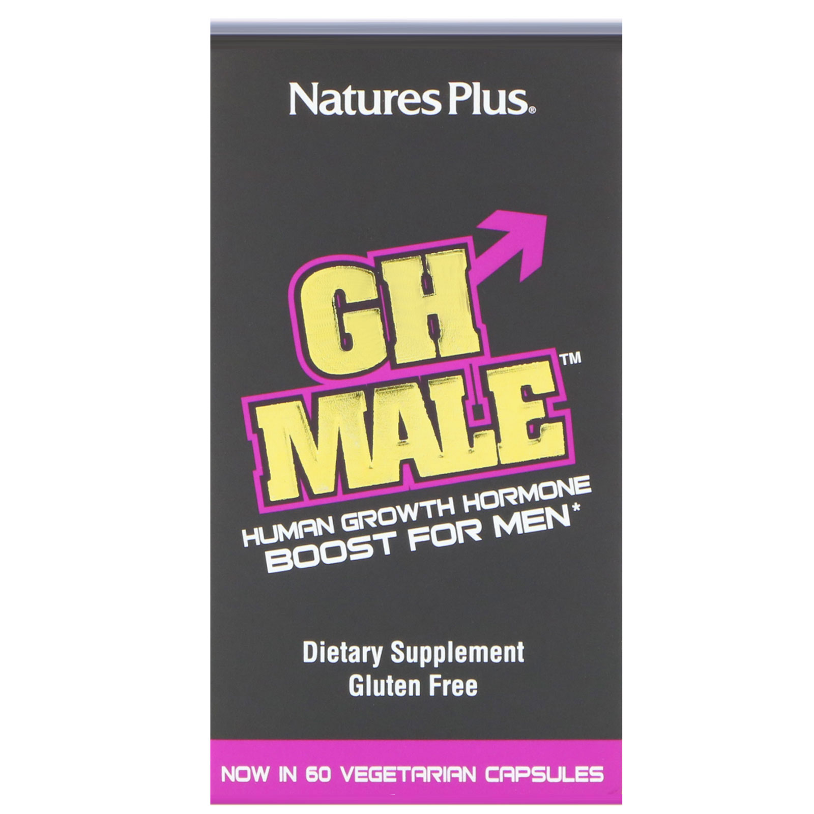 Nature's Plus, GH Male, Human Growth Hormone for Men, 60
