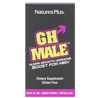 Nature's Plus, GH メイル™, 男性用ヒト成長ホルモン, 60 カプセル