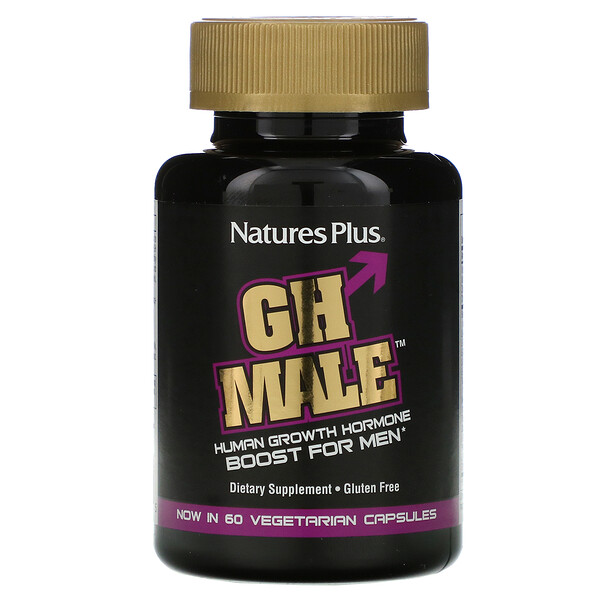 GH Male, Human Growth Hormone for Men, 60 Vegetarian Capsules