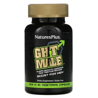 Nature's Plus, GH Male, hormona humana de crecimiento para hombres, 60 cápsulas