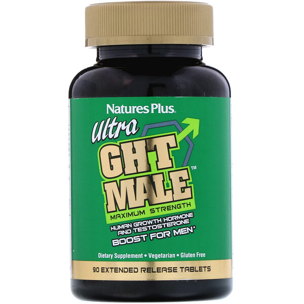 Ultra GHT Male, Maximum Strength, Boost For Men, 90 Extended Release Tablets
