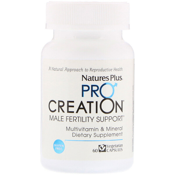 ProCreation, Male Fertility Support, 60 Vegetarian Capsules