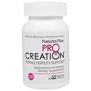 Nature's Plus, ProCreation, Female Fertility Support, 60 Veggie Caps