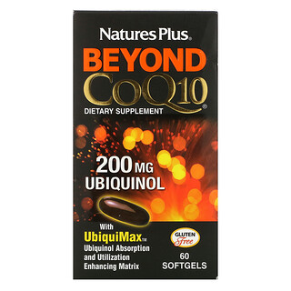 Nature's Plus, Beyond CoQ10, 60 Softgels