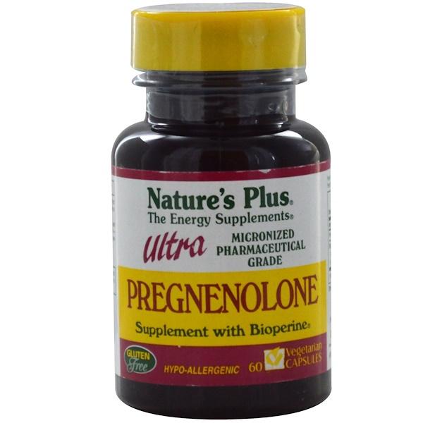 Nature's Plus, Ultra Pregnenolone, 60 Veggie Caps