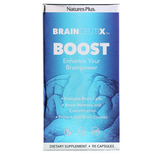 Nature's Plus, Brainceutix, Boost, 90 Capsules