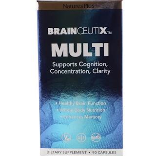 Nature's Plus, Brainceutix, Multi, 90 Capsules