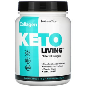 Nature's Plus, Keto Living, Natural Collagen, 1.36 lbs (616 g)