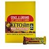 Nature's Plus, Ketoslim, High Protein Bar, Chocolate Almond Crunch, 12 Bars, 2.1 oz (60 g) Each