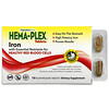 Nature's Plus, Hema-Plex, Iron with Essential Nutrients for Healthy Red Blood Cells , 10 Slow Release Tablets