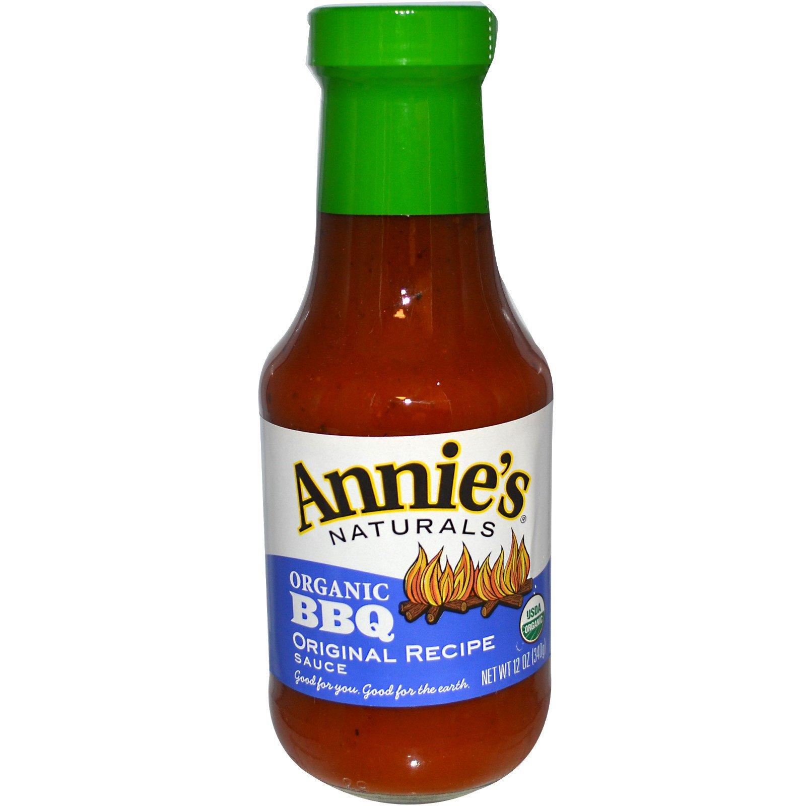 Annie's Naturals, Organic BBQ, Original Recipe Sauce, 12